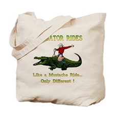 ALLIGATOR RIDES Tote Bag