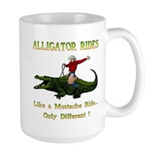 ALLIGATOR RIDES Mug
