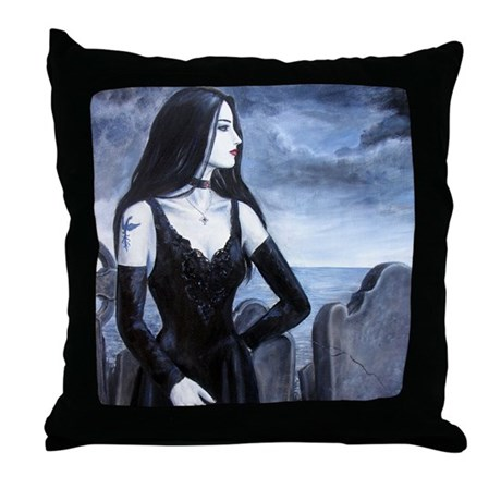 Whitby Gothic Throw Pillow