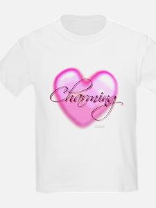 T-Shirt - Charming Heart Glass Tile Mos