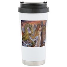 Prowling Dragon Travel Mug