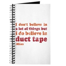 Miles Duct Tape Quote Journal