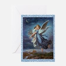The Guardian Angel Greeting Card