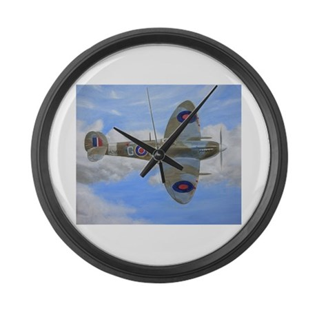 Spitfire Large Wall Clock