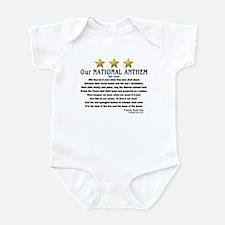 Funny Star spangled Infant Bodysuit