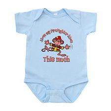 I love my Firefighter Mom Infant Bodysuit