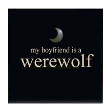Boyfriend Werewolf V3 Tile Coaster