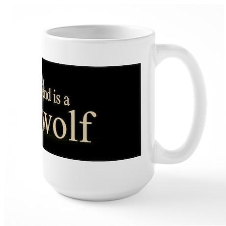 Boyfriend Werewolf V3 Large Mug