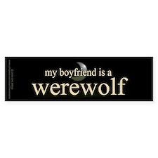 Boyfriend Werewolf V3 Bumper Sticker