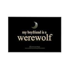Boyfriend Werewolf V3 Rectangle Magnet