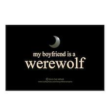 Boyfriend Werewolf V3 Postcards (Package of 8)