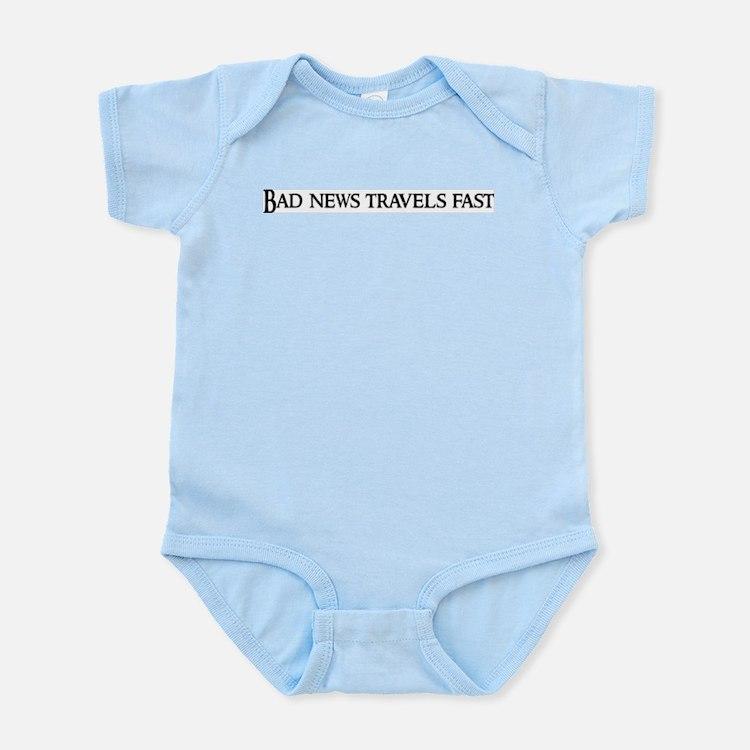 Bad news travels fast Infant Creeper