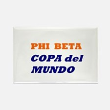 Phi Beta Copa Rectangle Magnet