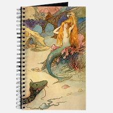 Vintage Mermaid Journal