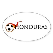 Honduras Soccer Decal