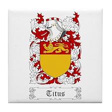 Titus Tile Coaster