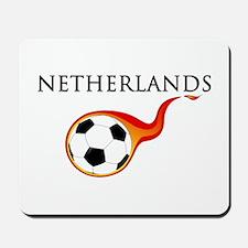 Netherlands Soccer Mousepad