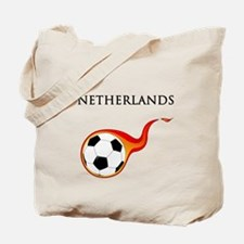 Netherlands Soccer Tote Bag