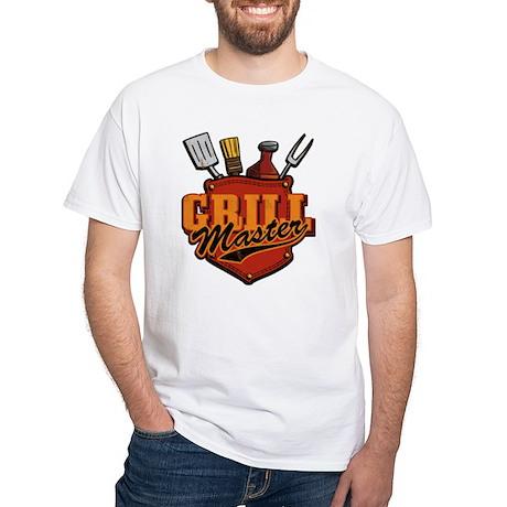Pocket Grill Master White T-Shirt