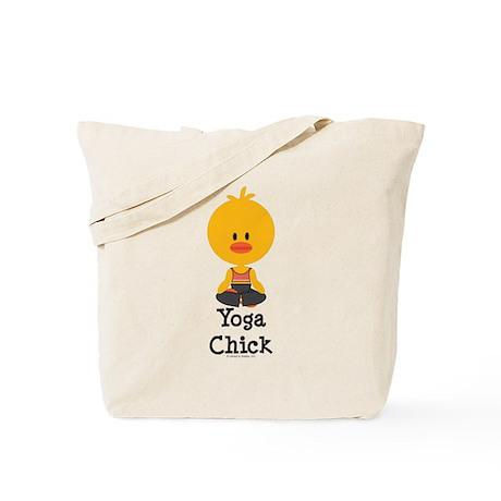 Yoga Chick Tote Bag