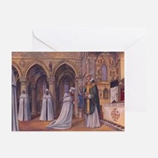 Templar Mass Greeting Card