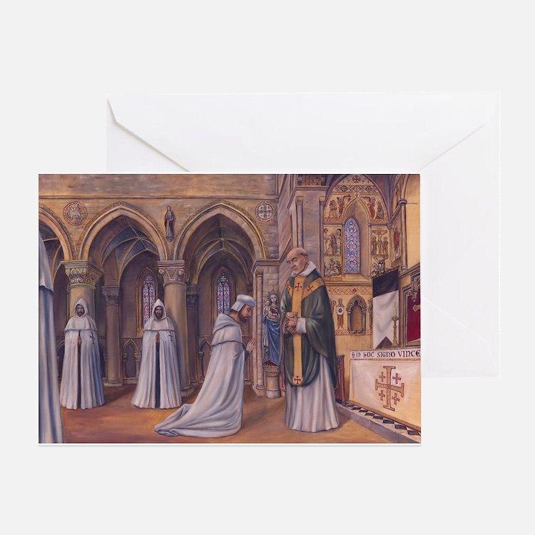 Templar Mass Greeting Card
