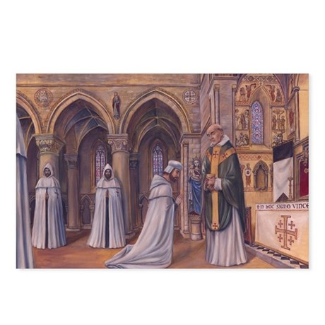 Templar Mass Postcards (Package of 8)