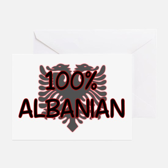 Cute Albanian shopping online Greeting Cards (Pk of 10)