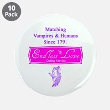 """Endless Love 3.5"""" Button (10 pack)"""