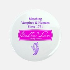 """Endless Love 3.5"""" Button (100 pack)"""