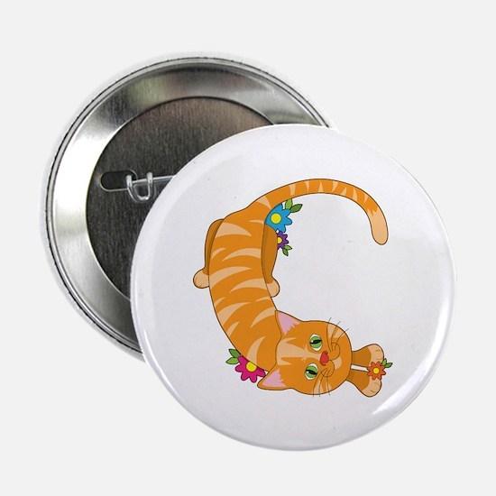 "Animal Alphabet Cat 2.25"" Button (10 pack)"