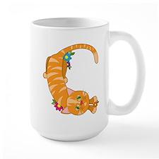 Animal Alphabet Cat Mug