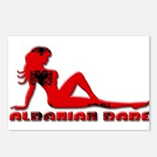 Albanian Babe Postcards (Package of 8)