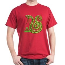 Year of the Snake Black T-Shirt