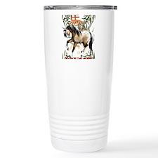 The Year Of The Horse Travel Mug