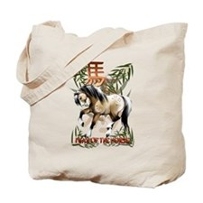 The Year Of The Horse Tote Bag