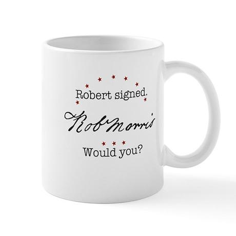 Robert Morris Mug