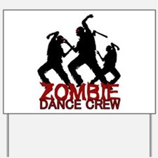 Zombie Yard Sign