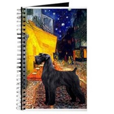Cafe & Giant Schnauzer Journal