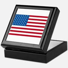 American Flag Old Glory Keepsake Box