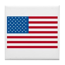 American Flag Old Glory Tile Coaster