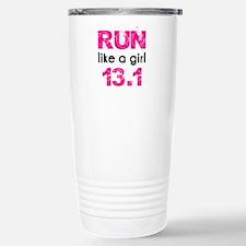 Run like a girl Travel Mug