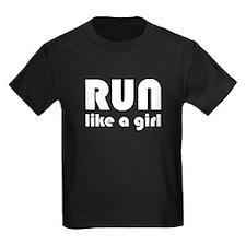 Run like a girl T