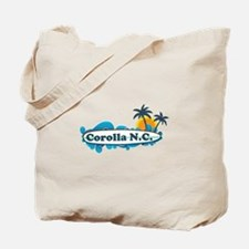 Corolla NC - Surf Design Tote Bag