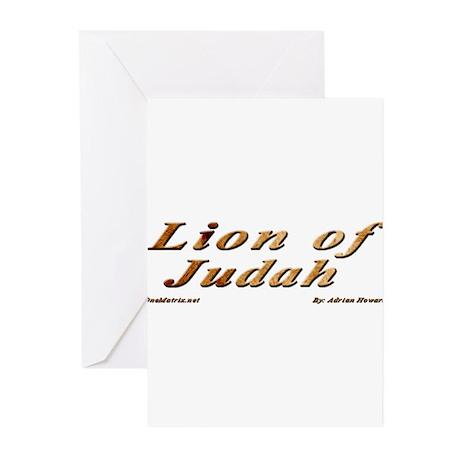 Lion of Judah Greeting Cards (Pk of 20)