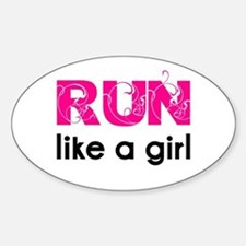running_swirl_sticker Decal