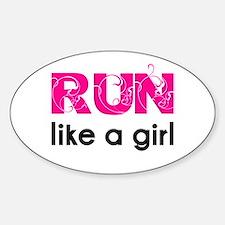 running_swirl_sticker Decal