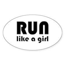 running_b_sticker Decal