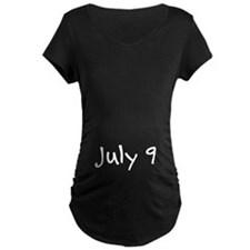 """July 9"" printed on a T-Shirt"