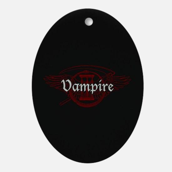 Vampire Eternal Ornament (Oval)